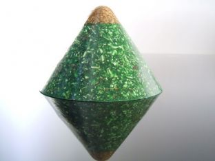 23k Gold Tip Cosmic Ordering Manifestation/Zen Meditation Green Dome